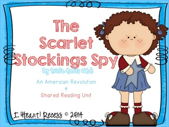 The Scarlet Stockings Spy {Unit & Smartboard Bundle}