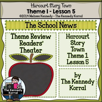 StoryTown Lesson 5 {The School News - 3rd Grade}