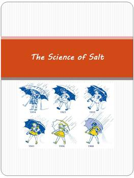 The Science of Salt