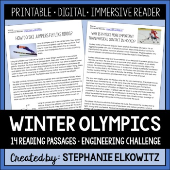 The Science and Engineering of Winter Olympic Games