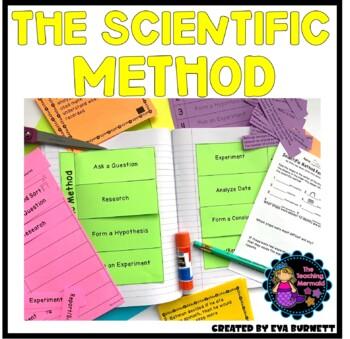 Scientific Method and Interactive Notebook Activities Diff
