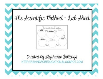 The Scientific Method - Lab Sheet