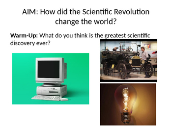 The Scientific Revolution PowerPoint Only