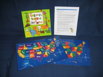 The Scrambled States of America English parent pack