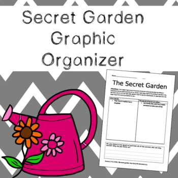 The Secret Garden Graphic Organizer