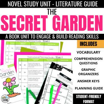 The Secret Garden Foldable Novel Study