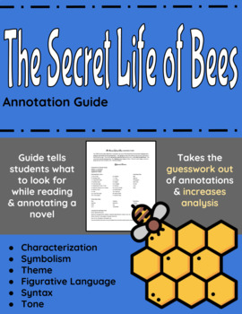 The Secret Life of Bees Annotation Guide