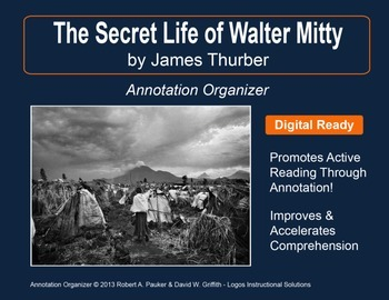 """""""The Secret Life of Walter Mitty"""" by James Thurber: Annota"""