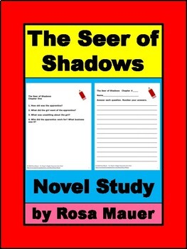 The Seer of Shadows Book Unit