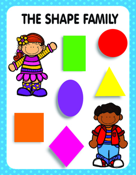 The Shape Family Posters