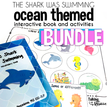 The Shark Was Swimming Ocean Theme Bundle