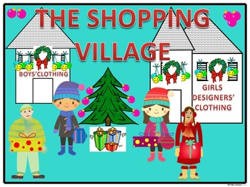 Christmas Money Activities (The Shopping Village)