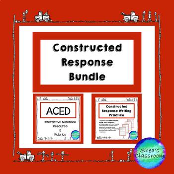 ACED Short Constructed Response Acronym Resource & Rubrics