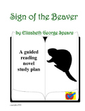 The Sign of the Beaver guided reading plan