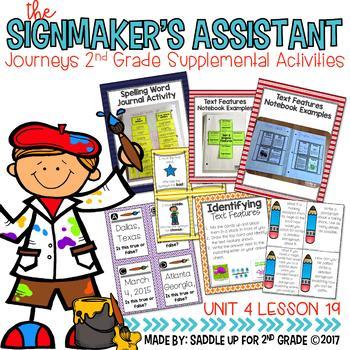 The Signmaker's Assistant Supplemental Activities