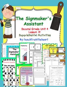 The Signmaker's Assistant (Journeys Second Grade Unit 4 Le