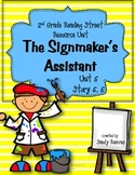 The Signmaker's Assistant Reading Street 2nd Grade Unit 5