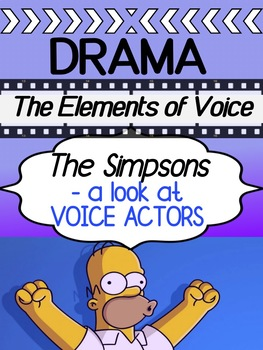 Drama - The Simpsons - Elements of Voice / Voice Actors