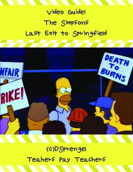 The Simpsons: Last Exit to Springfield (1993) Union Video