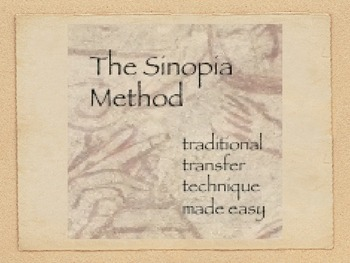 The Sinopia Method.  Traditional Renaissance Image Transfe