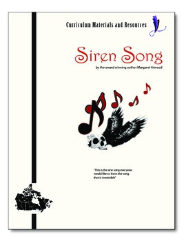 """The Siren Song"" COMPLETE UNIT EDITABLE Activities,Tests,E"