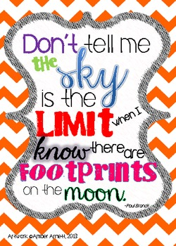 The Sky Isn't The Limit- An Inspirational Quote for Your C