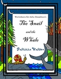 The Snail and the Whale Worksheets