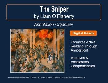 """Sniper"" by Liam O'Flaherty: Annotation Organizer"