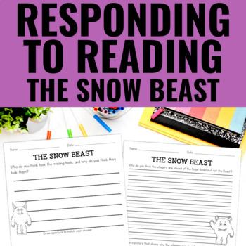 The Snow Beast - Reading Response