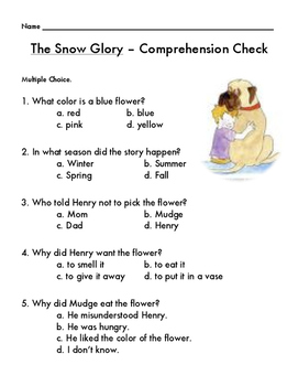 The Snow Glory (Henry and Mudge) by Cynthia Rylant