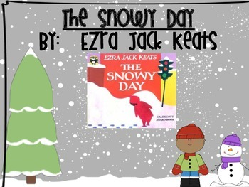 The Snowy Day by Ezra Jack Keats Craftivity, Comprehension