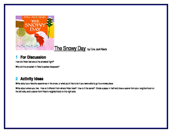 The Snowy Day for Guided Reading