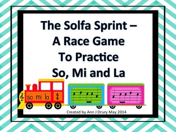 The Solfa Sprint - A Race Game to Practice So, Mi and La