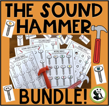 The Sound Hammer Bundle (/k/ & /g/ and final consonants)