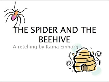 The Spider and the Beehive: Character Trait Lesson