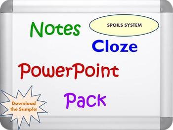 The Spoils System Pack (PPT, DOC, PDF)