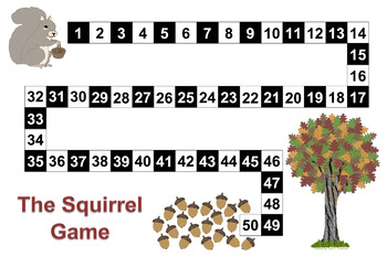 The Squirrel Game - Counting Numbers 1-31 & 1-50