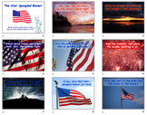The Star Spangled Banner - powerpoint