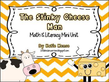 The Stinky Cheese Man Math & Literacy Mini Unit