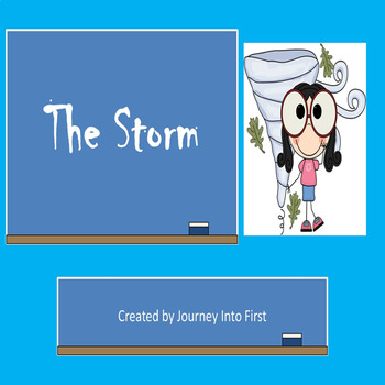 The Storm (Journeys Common Core Reading Series)