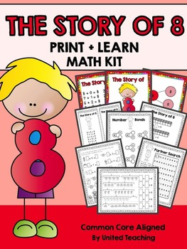 The Story of 8 Print + Learn Math Kit