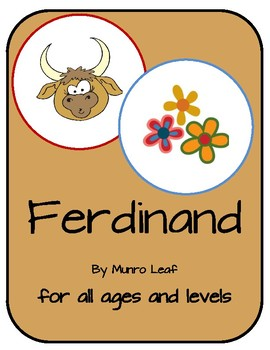 The Story of Ferdinand the Bull Activity Bundle