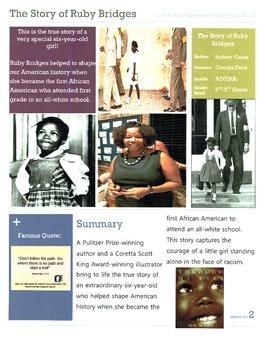 The Story of Ruby Bridges CCSS ELA Unit