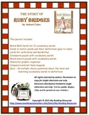 The Story of Ruby Bridges by Robert Coles Book Unit
