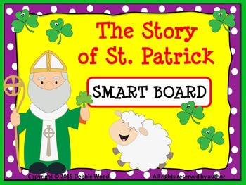 SMART Board St. Patrick's Day Sequencing Story and Worksheet