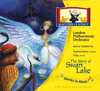 The Story of Swan Lake Ballet MP3 and Activity Book Compos