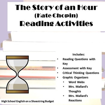 The Story of an Hour Reading Activities (Kate Chopin)