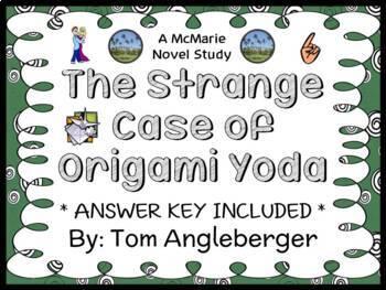 The Strange Case of Origami Yoda (Tom Angleberger) Novel S