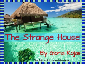 The Strange House – Emergent reader, ocean theme, rhyming
