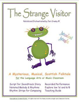 The Strange Visitor - Scottish Folktale - Sountrack Story